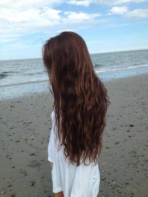 Pourquoi j'ai pas des beaux cheveux de même :( #jealous!