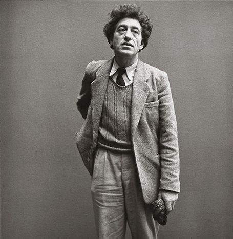 Alberto Giacometti, Paris, March 6th 1958 by Richard Avedon