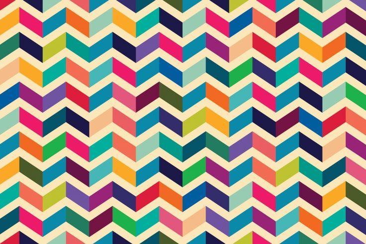 geometric mural - Google Search