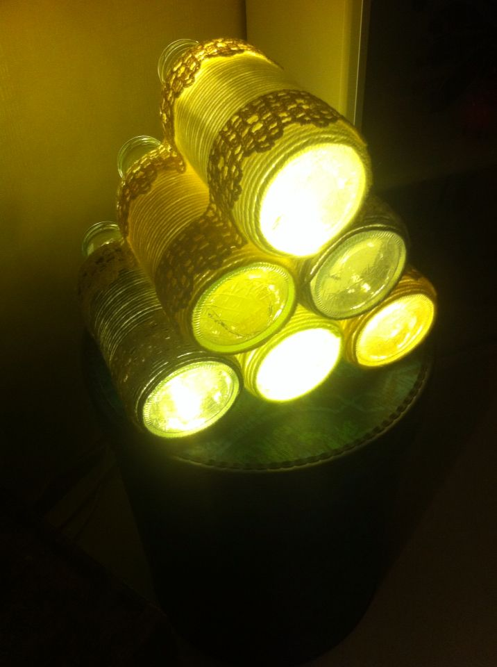 Valolyhty valojen kera diy