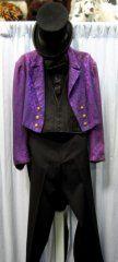 Tuxedo Tails Costume Purple - Chest 40
