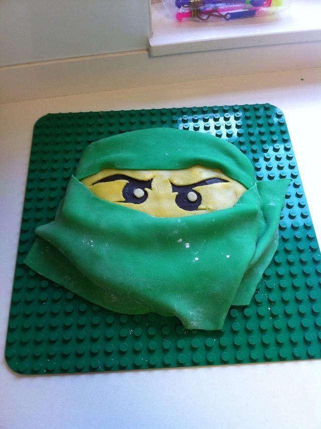 Step by step to make fondant ninjago cake