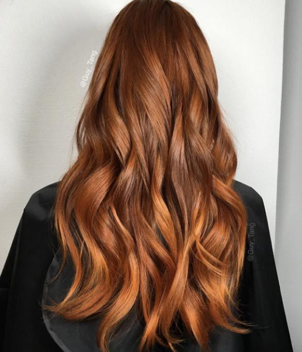 Dark Brown Red Orange Hair Color | www.pixshark.com ...