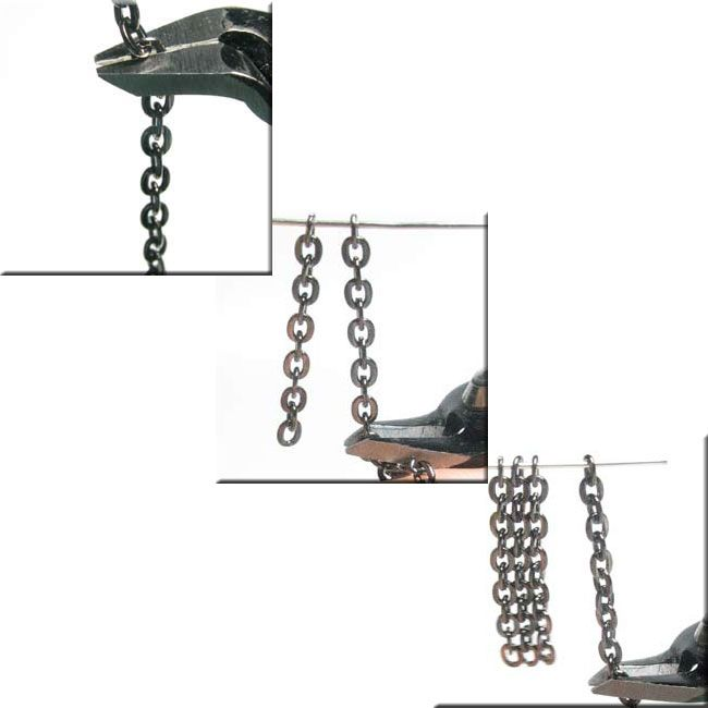 how to cut jewelry chain