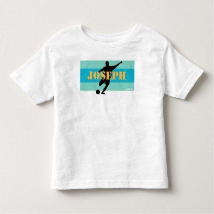 HAMbWG -  Toddler's T Shirt  - Aqua Bands - kids kid child gift idea diy personalize design