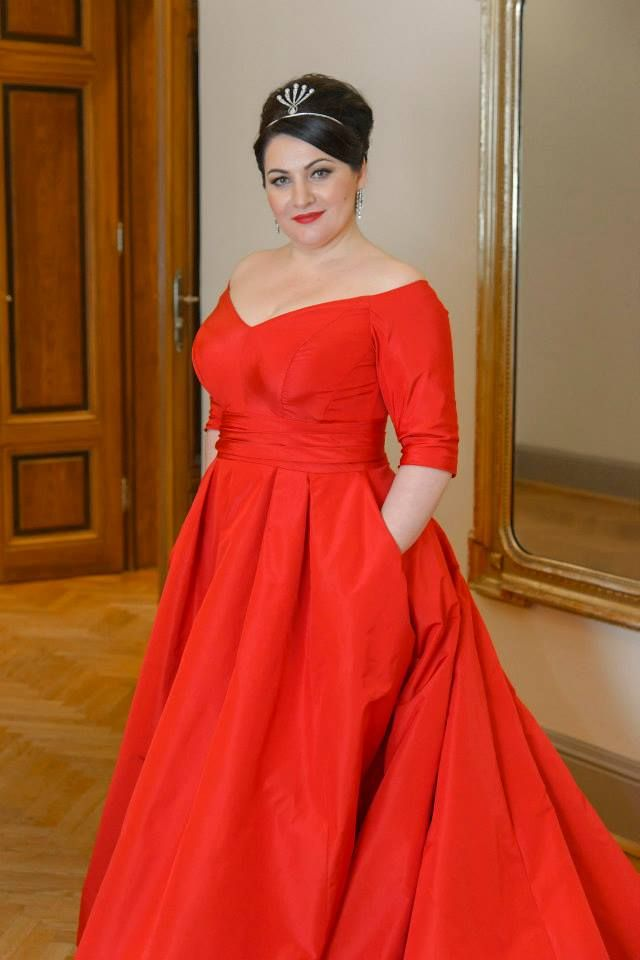 Hibla Gerzmava. Abkhaz and Russian opera singer (soprano). #slimmingbodyshapers   If you talk about the designs or style, you need not to worry as endless designs and styles are available in plus size cocktail dresses. There are different styles like with spaghetti straps with sleeves, without sleeves available. You can also add shawls or even pantsuit if it suits your personality.  slimmingbodyshapers.com   #psbloggers #shapewear #PlusSize #OnlineShopping #Curves #RealWomen#CurvyGoddess