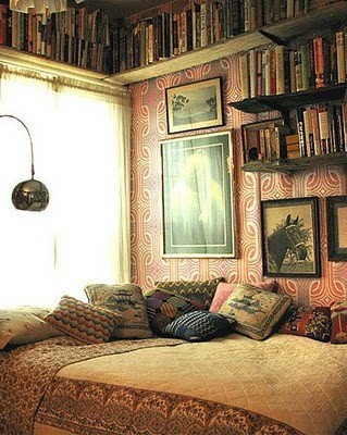 she likes a good book - why not give her a place to read it in :)