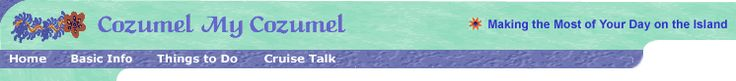 """Cozumel Cruise Info:How to Be More Than """"Just Another Tourist"""" on Cozumel Island, Page 2"""