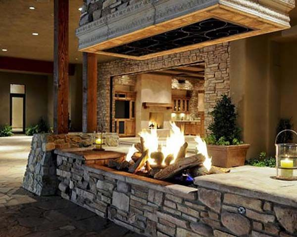 Best 25+ Outdoor fireplace designs ideas on Pinterest | Outdoor ...