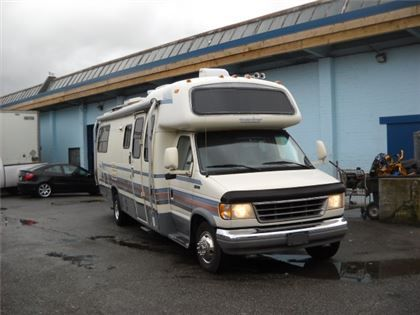 """""""VR - 1994 Telstar ford##SOLD## e 350 27ft class C 82000kms rear twin  à Vancouver, BC  17600 $"""""""