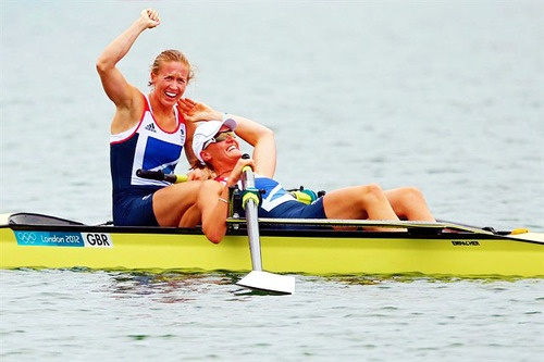 Heather Stanning & Helen Glover Women's Pairs GOLD MEDAL ♥