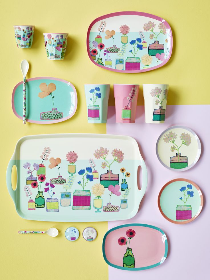 Melamine with Flower Display - AW16  sc 1 st  Pinterest & 55 best Melamine images on Pinterest | Dishes Dinnerware and Dish sets