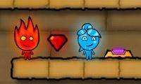 Niños fuego y agua 4: templo de cristal - Juega a juegos en línea gratis en Juegos.com