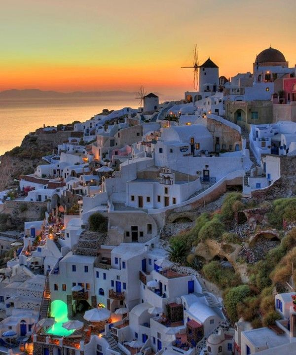 Santorini is a volcanic island, located in the Aegean Sea, 63 nautical miles north of Crete and 120 miles from Greece. Santorini is a part of a larger group of islands and is considered to be the most beautiful and visited of all in the area.