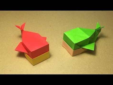 Origami Whale Tutorial / Instructions - YouTube