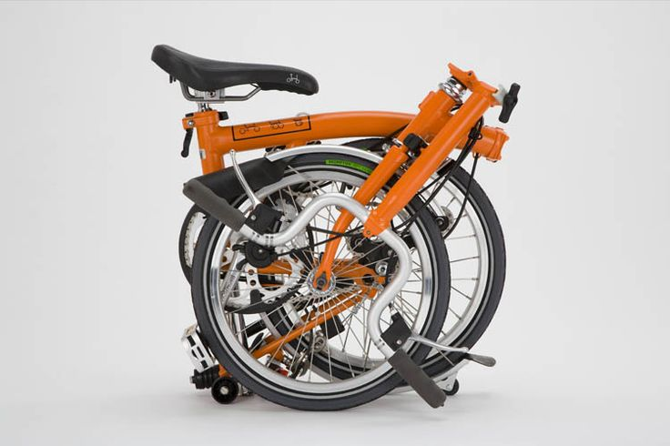 Behold the folded Brompton bike. Tidy, compact, and well designed. Plus, it's a bike. Downside a) the price. Downside b) I'm an irresistible combination of weak and lazy -- so may be unlikely to enjoy the bike in its unfolded form. But hey -- they're making them with electric motors later this year! Now you're talking! Downside c) The electric models will only be available in Europe for the first year.