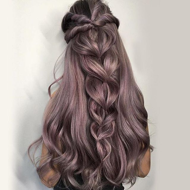 styles for thick long hair i want this thick hair for me to deal with this 4756 | f2489c1baa3664add016536485f71bd7 fairy hairstyles dope hairstyles