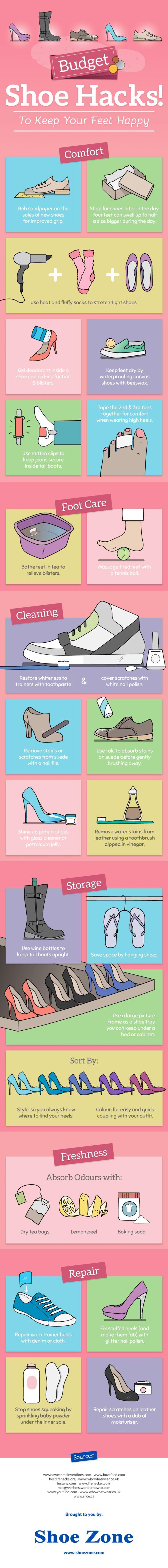 These Shoe Hacks Will Make Your Footwear Last Longer