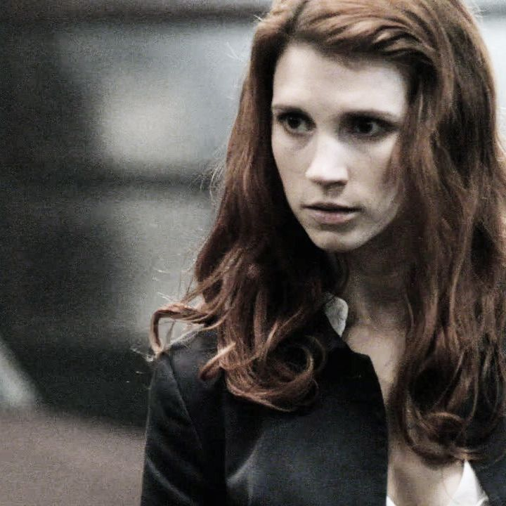 """Anna Milton [Julie McNiven] """"rootless - for anna, the rebel angel on the wrong side of history """"everybody wants to rule the world - lorde make a shadow - meg myers blinding - florence + the machine alibi -..."""