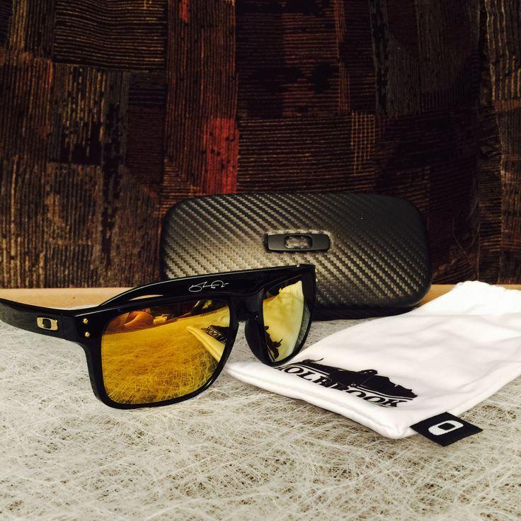 Oakley 24K Holbrook Sunglasses w/ Gold Iridium Lenses - Find more at http://www.OakleyForum.com