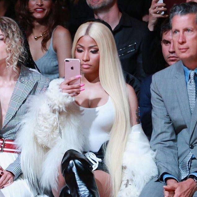 Nicki Minaj ❤️ New York Fashion Week 2017