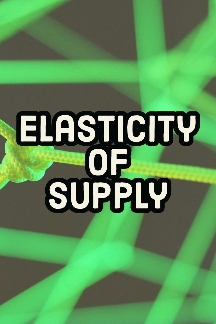 Elasticity Of Supply And Its Types Hsc Class 12 Class 11 Economics Microeconomics Notes Economics Micro Economics Social Media