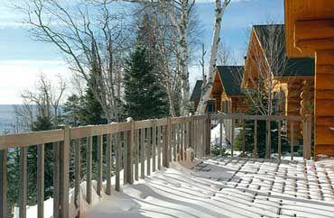 Minnesota Log Cabin Rental Great Lakes Resort Lutsen