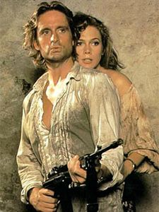 #TBT And So It Goes' Michael Douglas Romancing the Stone w/Michael Douglas and Kathleen Turner