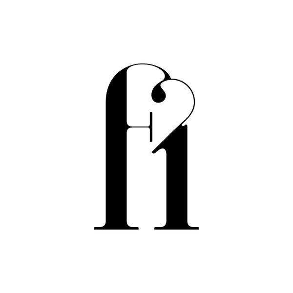 Ligature.   Paris, a new typeface by Moshik Nadav