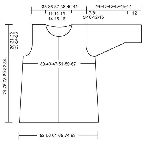 """DROPS 118-25 - Crochet DROPS jacket with fan pattern in """"Muskat"""". Size S - XXXL. - Free pattern by DROPS Design"""