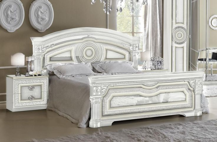 Glossy White Bedroom Furniture Inspiration Decorating Design