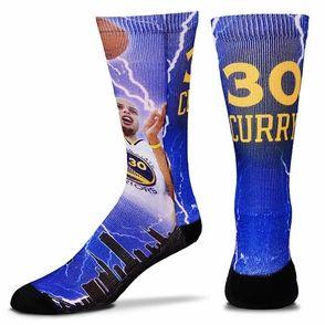 Men s Golden State Warriors Stephen Curry Storm Player Socks ... acf2cd51fd81