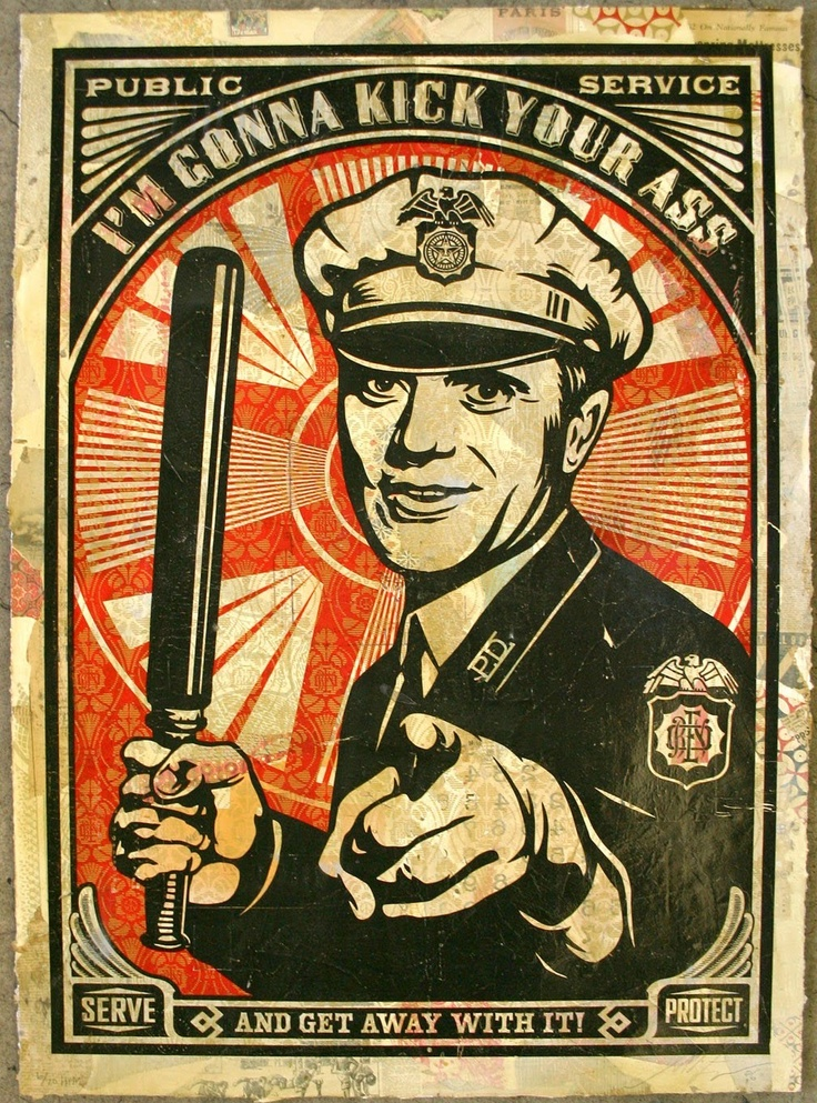 Shepard Fairey Obey Psychedelic Hippie Peace Art Poster ...
