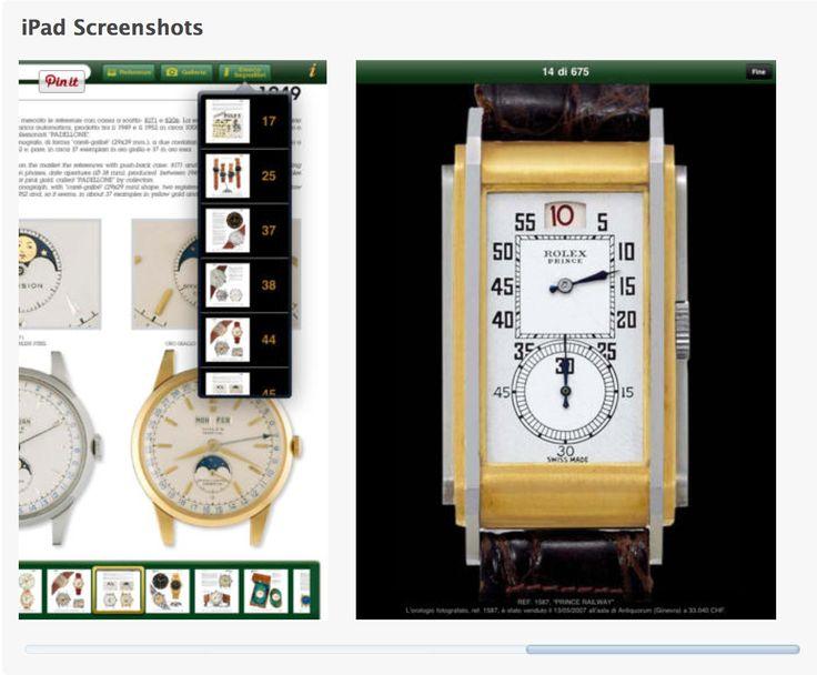 100 Years of Rolex HD By Guido Mondani Editore https://itunes.apple.com/nz/app/100-years-of-rolex-hd/id434243016?mt=8