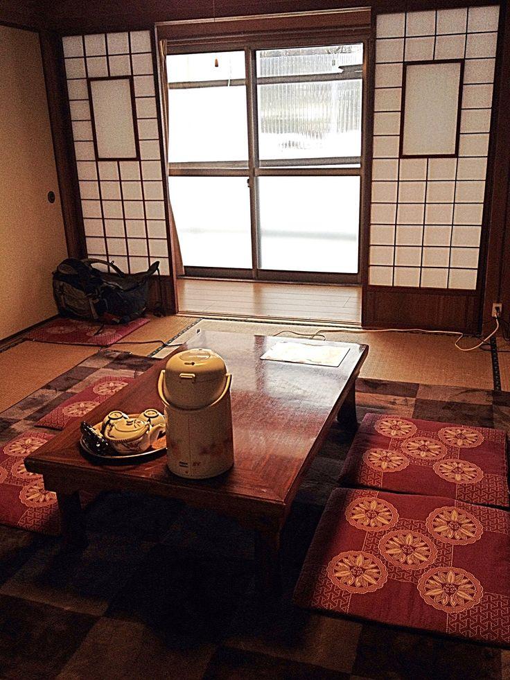 Guest Room at Nodaniya Ryokan Inn at Shirakawa-go, Japan