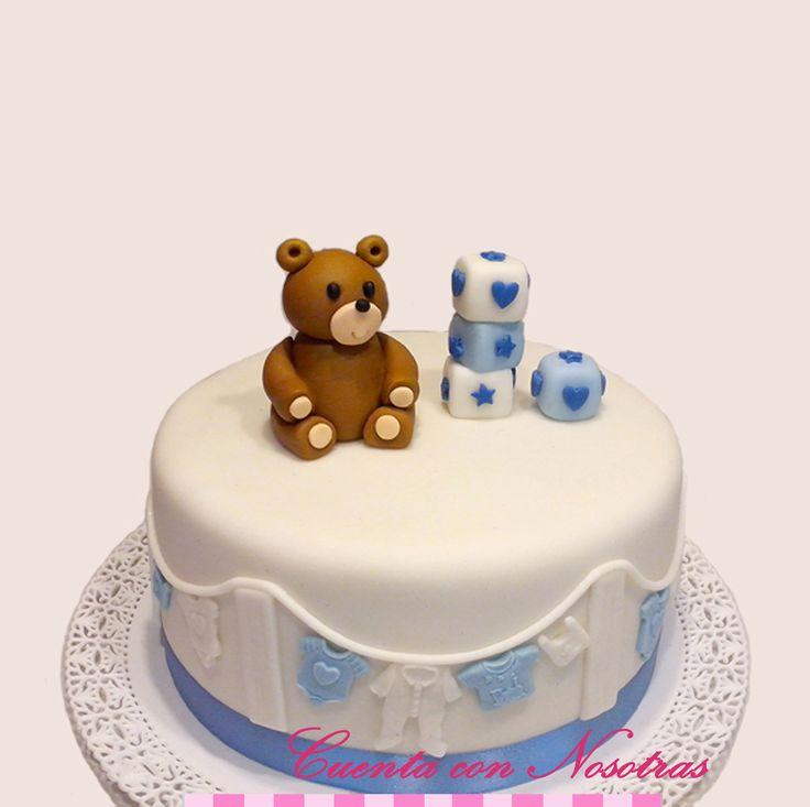 Torta Baby Shower Baby Shower Cake Cuenta con Nosotras
