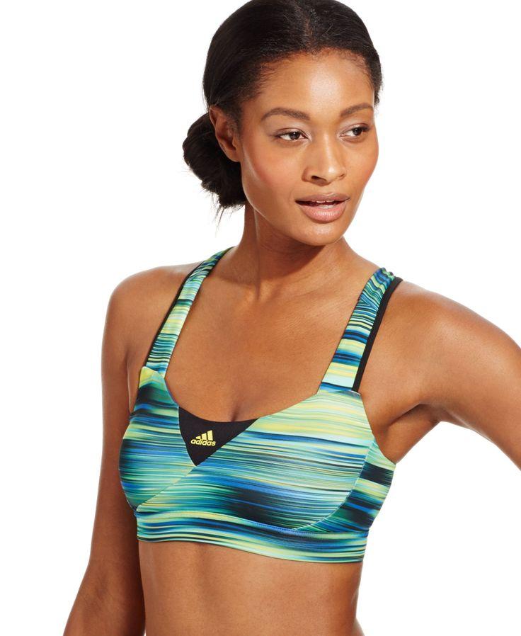 Adidas Supernova Compression ClimaCool® High-Impact Sports Bra - Women - Macy's