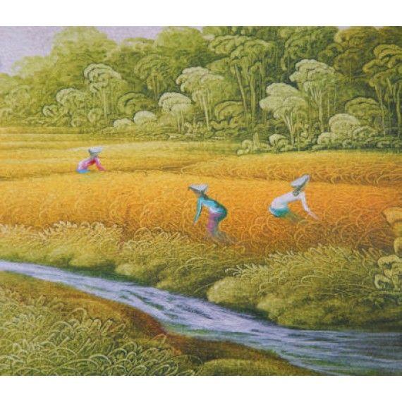 12 Best 087838671118, Lukisan Pemandangan, Foto Lukisan