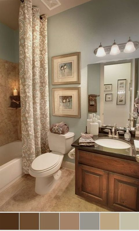 the bathroom is a space in which we find calm and peace at the end