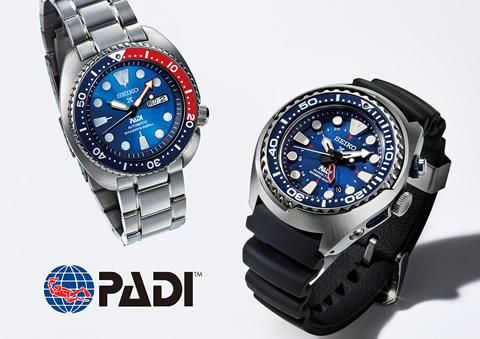 Seiko announces a partnership with PADI, the world's largest
