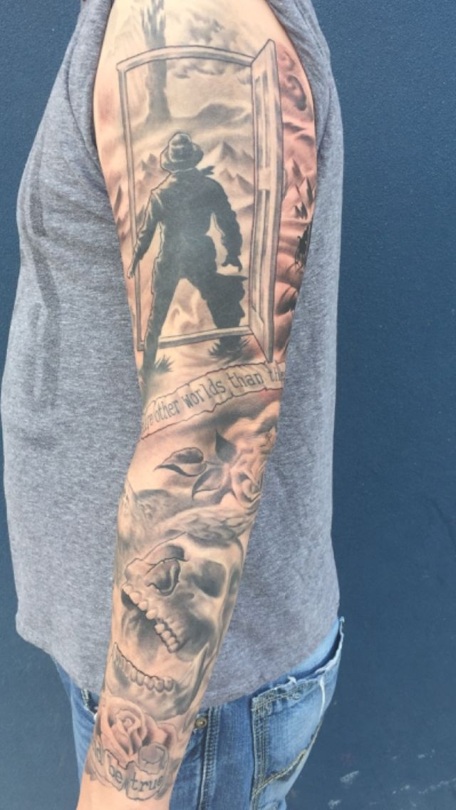 Dark Tower Tattoo Sleeve - Album on Imgur