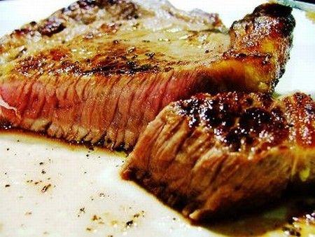 Ромштекс из говядины .