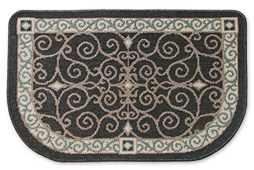 Midnight Scrollwork Hearth Rug, Fireplace and Wood Stove Rug Country Floorware http://www.amazon.com/dp/B00M8MPMP6/ref=cm_sw_r_pi_dp_EqQbwb0VJZJ4V
