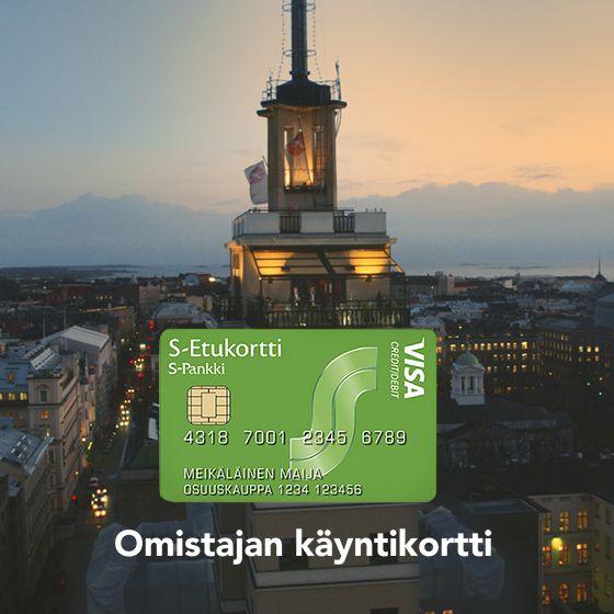 S-Etukortti on omistajan käyntikortti, koska sinä omistat oman osuuskauppasi toimipaikat. #omistaja #osuuskauppa #setukortti #on #omistajankäyntikortti #sryhmä