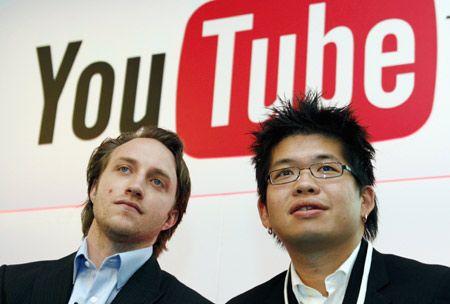 Y por ultimo pero no menos importantes, los dos creadores originales de youtube. Los dos locos que un dia propusieron crear una web en la que la gente pudiese subir libremente sus videos a la nube y que muy valerosos e imaginativos, crearon la web-app mas famosa del mundo entero