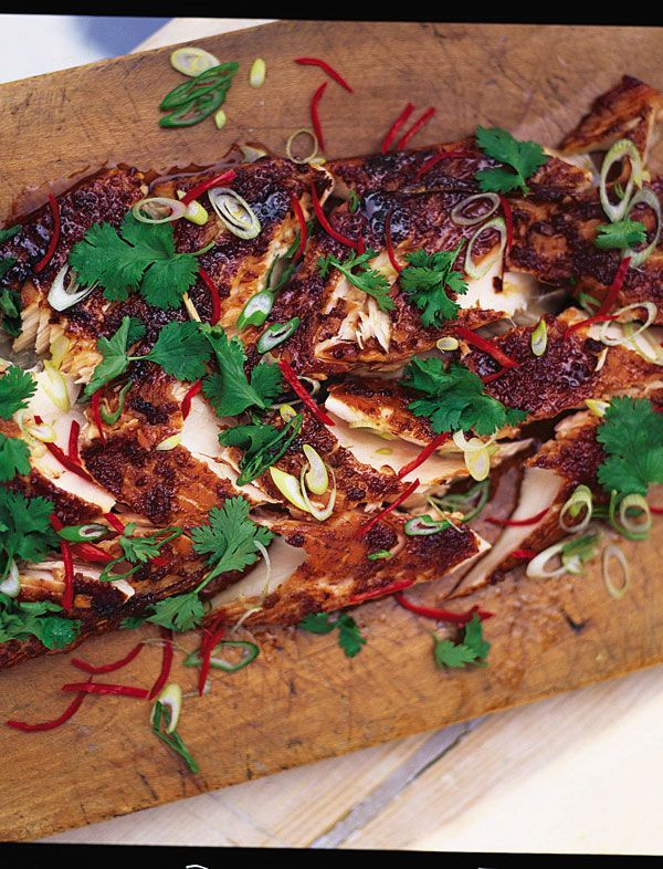 marinated & grilled salmon | Jamie Oliver | Food | Jamie Oliver (UK): http://www.jamieoliver.com/recipes/fish-recipes/marinated-and-grilled-salmon