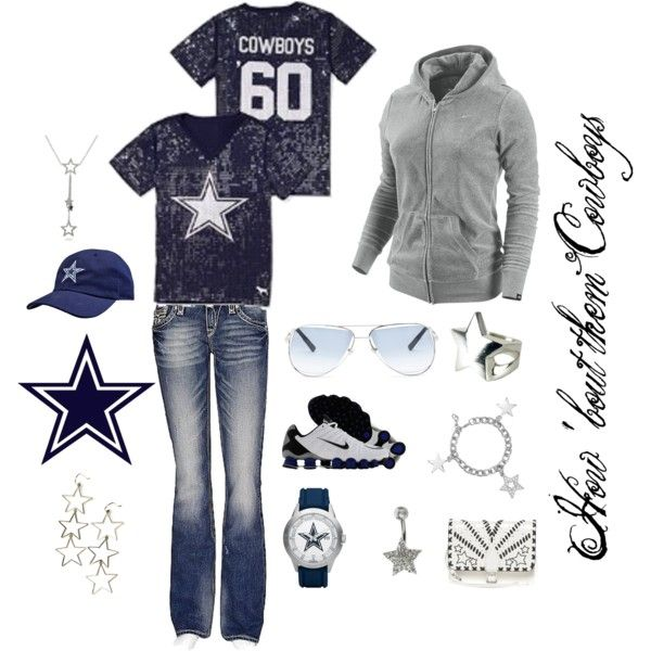 """""""Dallas Cowboys"""" by marie-jenson on Polyvore"""