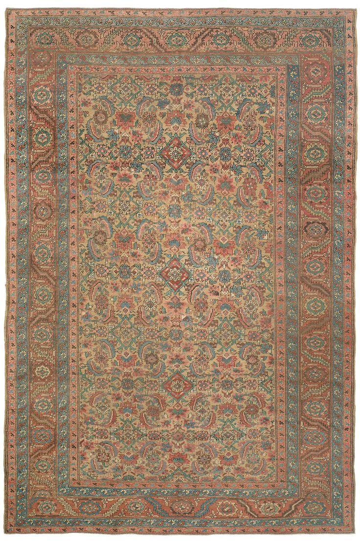 Antique Persian Bakshaish Rug 96 best Rugs