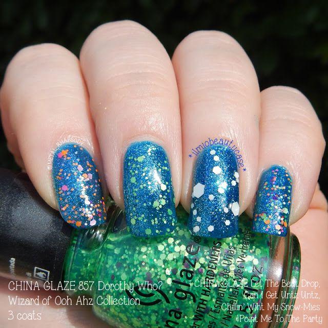 Zoolander nail art