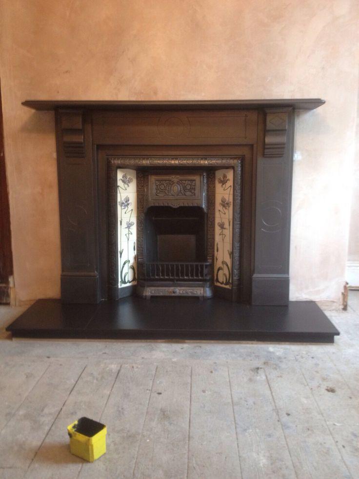 Black Cleft Slate Fireplace : Best slate fireplace ideas on pinterest